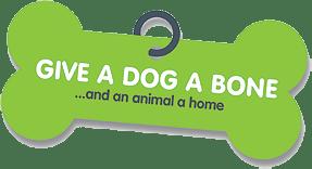 Give a dog a bone... and an animal a home