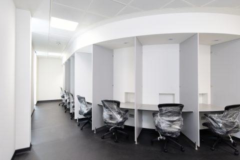Internal Joinery Work Menstrie ICT Laboratory