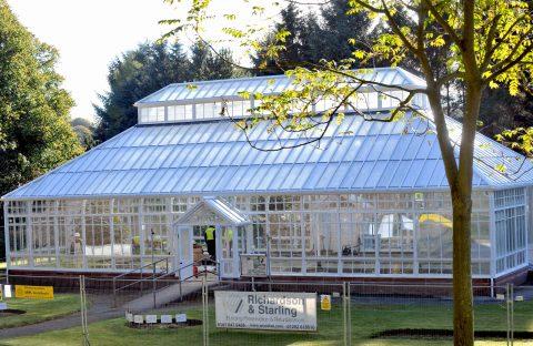 Timber Treatment, Bellisle Conservatory, Ayr
