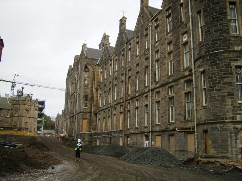Rot and Damp Surveys, Quartermile, Edinburgh