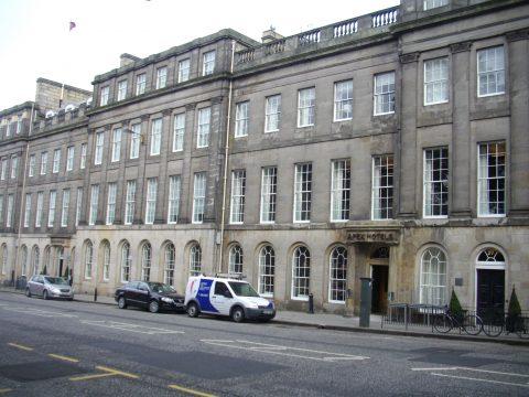 Timber window restoration, Edinburgh